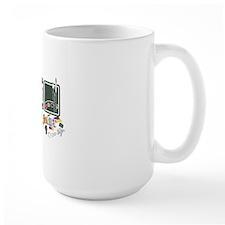 eat_sleep_art_back Mug