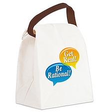 Pi Large black shirt Canvas Lunch Bag