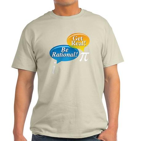 Pi Large black shirt Light T-Shirt