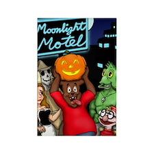 Moonlight Merchandise First Hallo Rectangle Magnet