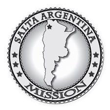 Salta Argentina LDS Mission Round Car Magnet