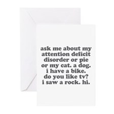 Ask Me About My ADD Greeting Cards (Pk of 10)