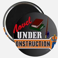 Novel under construction pillow with pics b Magnet