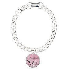RN nurse practitioner Charm Bracelet, One Charm
