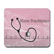 RN nurse practitioner Mousepad