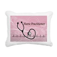 RN nurse practitioner Rectangular Canvas Pillow