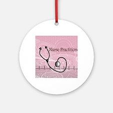 RN nurse practitioner Round Ornament