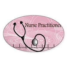 RN nurse practitioner Decal