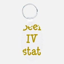 FIN-beer-iv-stat-TRANS Keychains