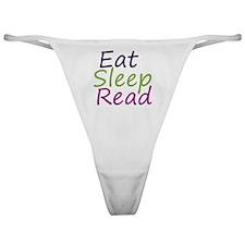 eatsleepread12-1-11 Classic Thong