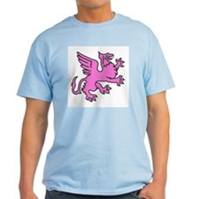 Pink Griffin T-Shirt