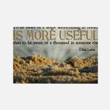 Shortcoming Quote on Jigsaw Puzzl Rectangle Magnet