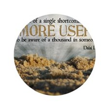 """Shortcoming Quote on Jigsaw Puzzle 3.5"""" Button"""