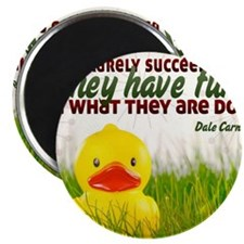 Succeed Quote on Jigsaw Puzzle Magnet