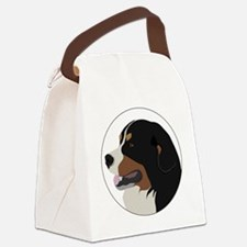 bernese_vector Canvas Lunch Bag