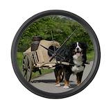 Bernese mountain dog Giant Clocks