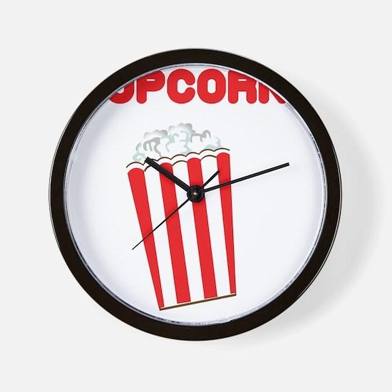 popcorn Wall Clock