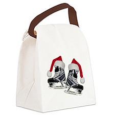 skates_christmas Canvas Lunch Bag