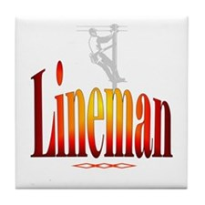 Lineman - Tile Coaster