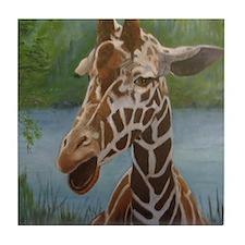 Baby Giraffe Tile Coaster
