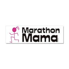 marathon momma Car Magnet 10 x 3