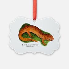 Red Salamander Ornament