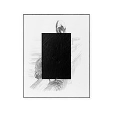 Pelican Pencil Drawing by Brooke Sco Picture Frame