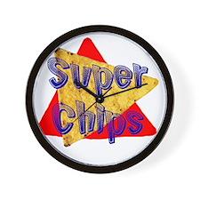 Super Chips Wall Clock