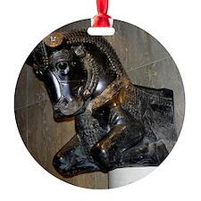 SqBullTitled Ornament