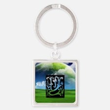 Y-Y Letter Yes and success Keychains