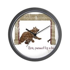 ShakesBear Wall Clock