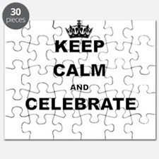 KEEP CALM AND CELEBRATE Puzzle