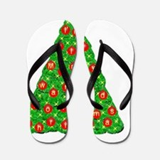 Im all Mommy wanted for Christmas - Red Flip Flops