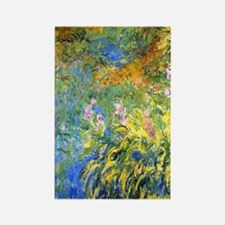443 Monet Yellow WL Rectangle Magnet