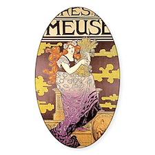 Art Nouveau - Bieres de la Meuse Decal