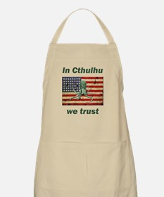 In Cthulhu we trust BBQ Apron