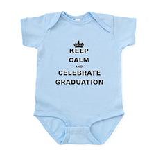 KEEP CALM AND CELEBRATE GRADUATION Body Suit
