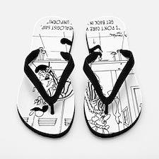 6704_referee_cartoon Flip Flops
