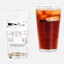 6772_sheep_cartoon Drinking Glass