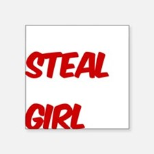 "MRSTEAL Square Sticker 3"" x 3"""