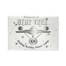 property of trek chrome png copy Rectangle Magnet