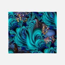 Blue World 8000x6000 (C) Throw Blanket