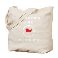 campers_white Tote Bag
