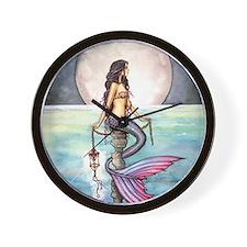 enchanted sea cp Wall Clock