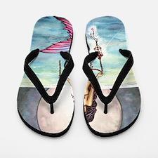 enchanted sea cp Flip Flops