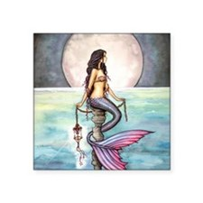 "enchanted sea cp Square Sticker 3"" x 3"""