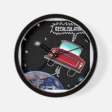 8638_GPS_cartoon Wall Clock
