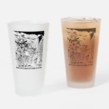8226_space_cartoon Drinking Glass