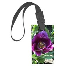 You are loved with flower Luggage Tag