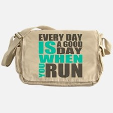 Every Day Is A Good Day When You Run Messenger Bag